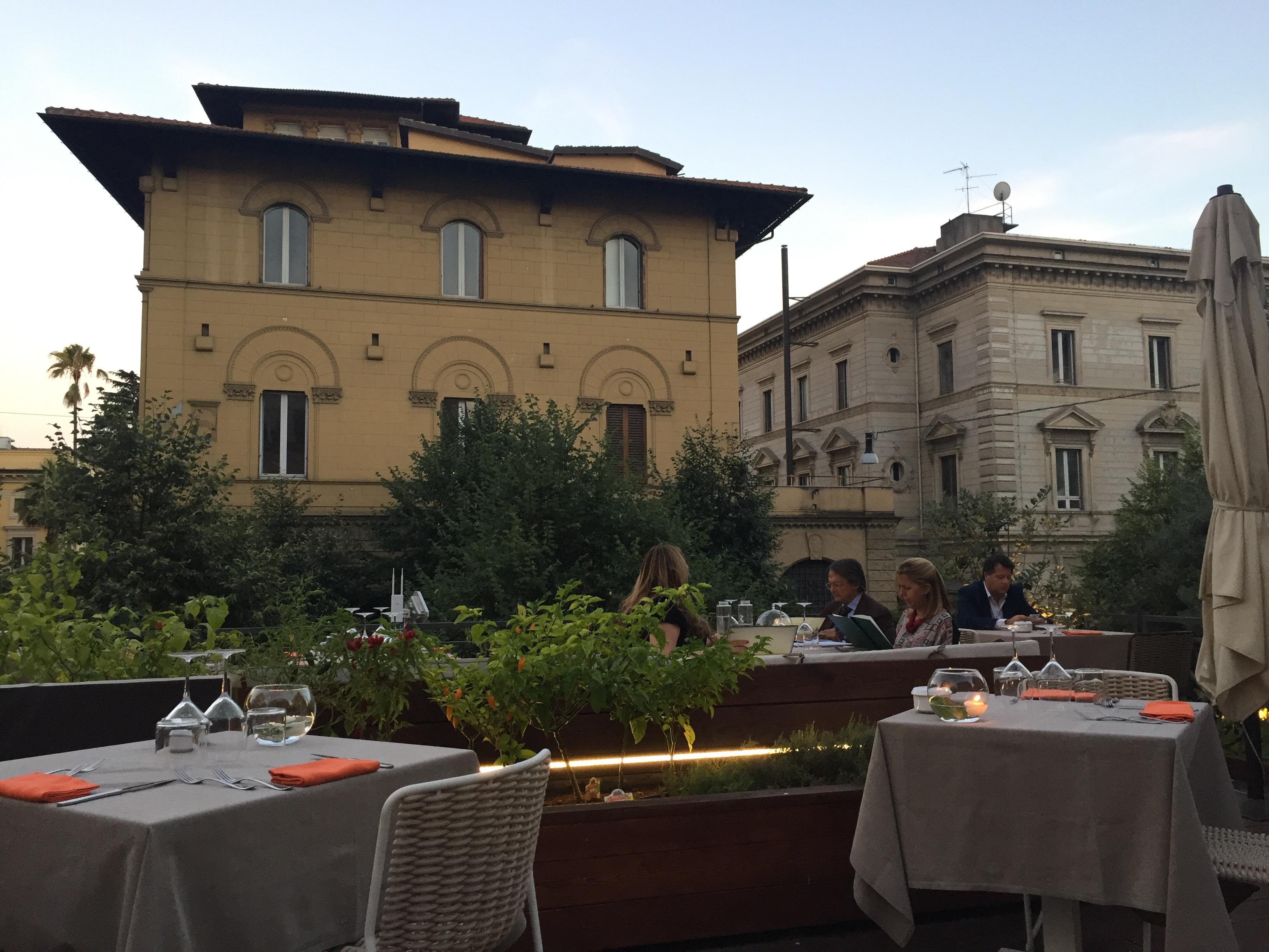 Fiore Cucina Flexiteriana , Terrazza