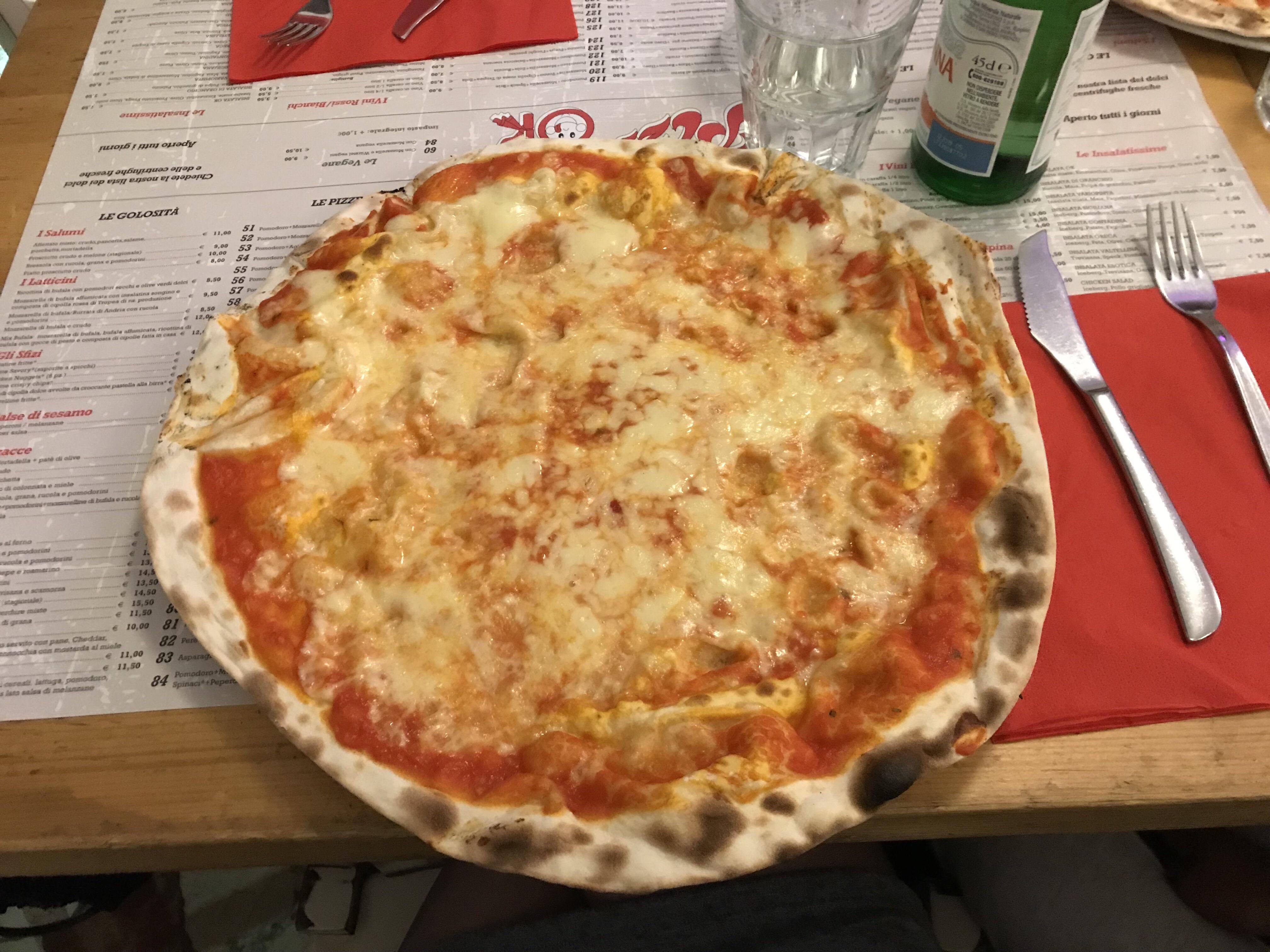 pizza ok milano