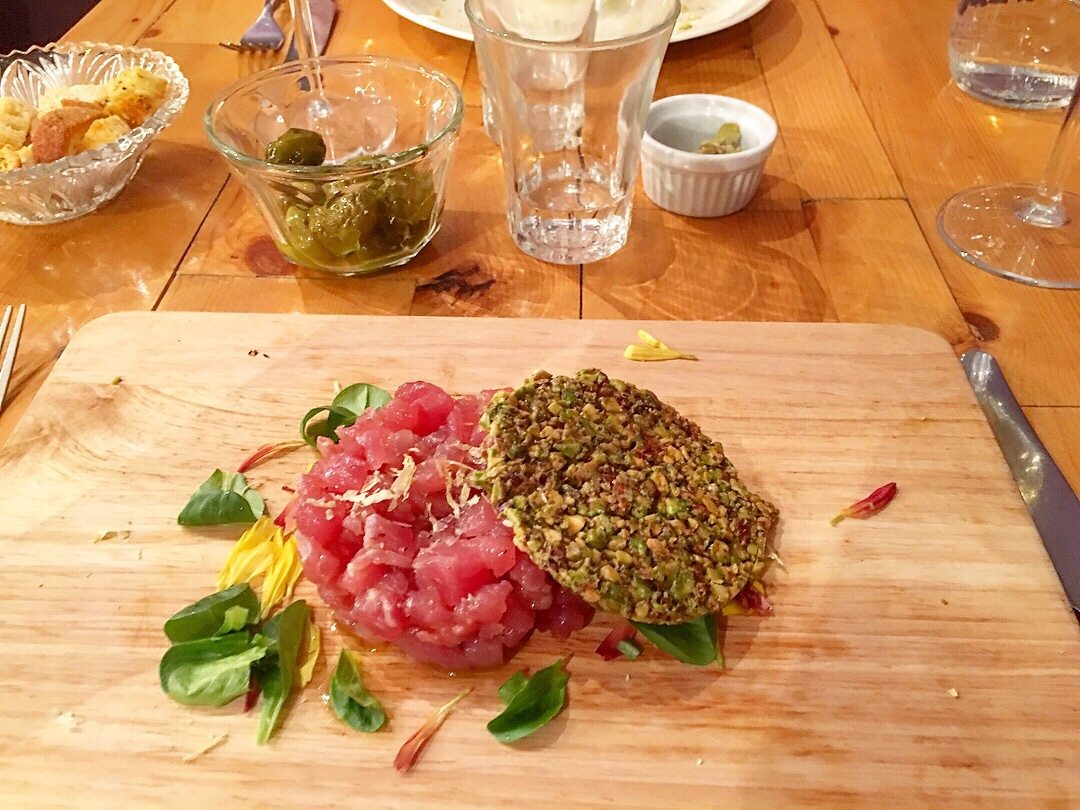 Capotavola Ristorante menu