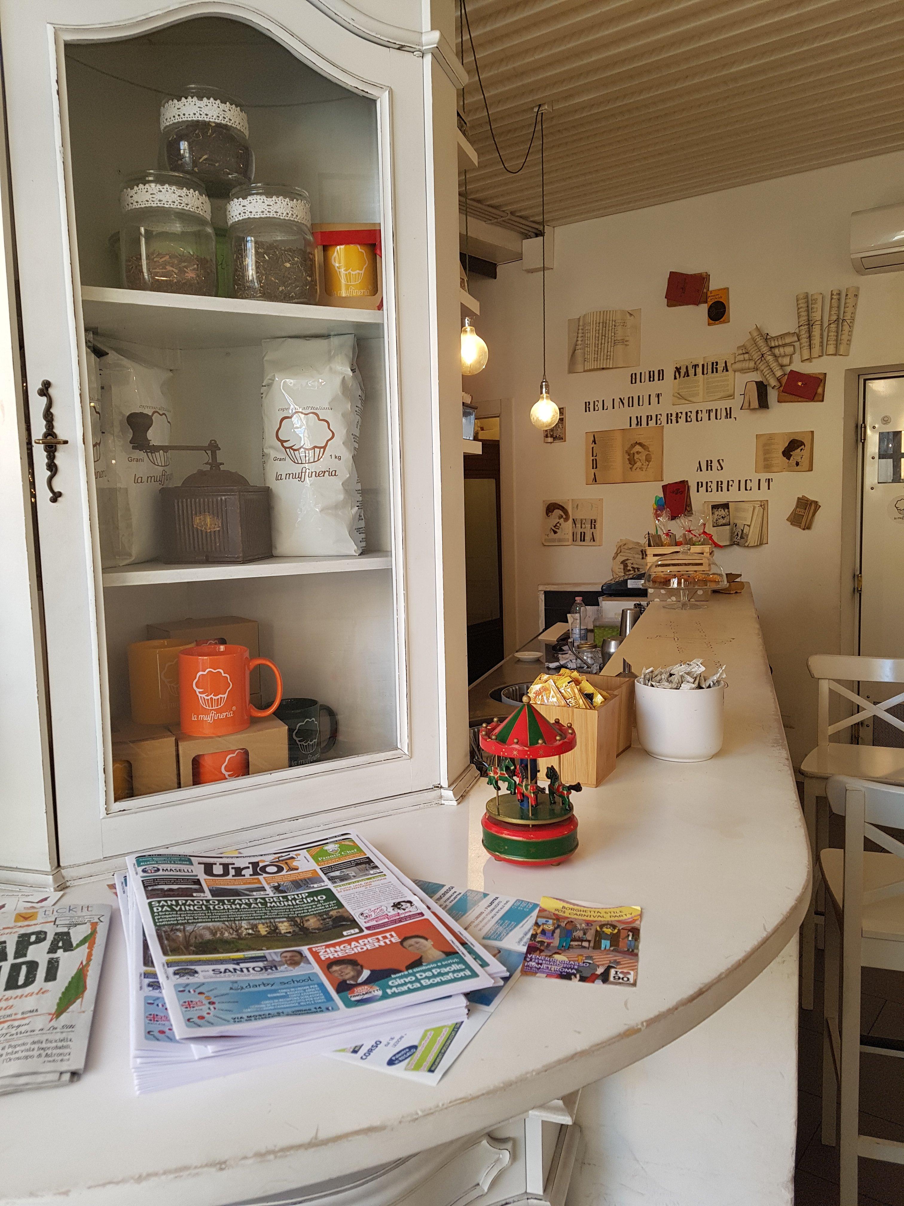 la muffineria caffetteria roma