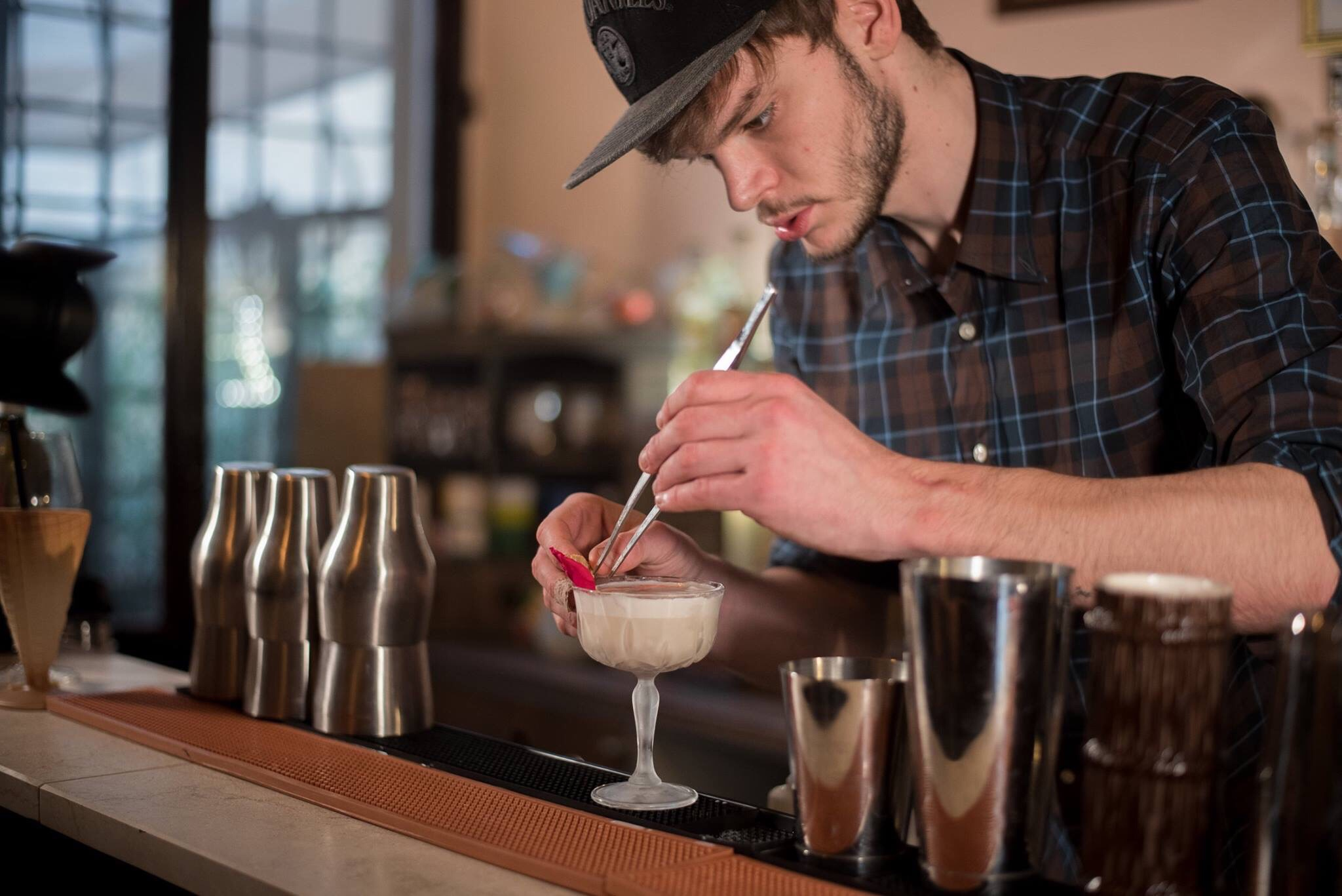 very nice cocktail bar