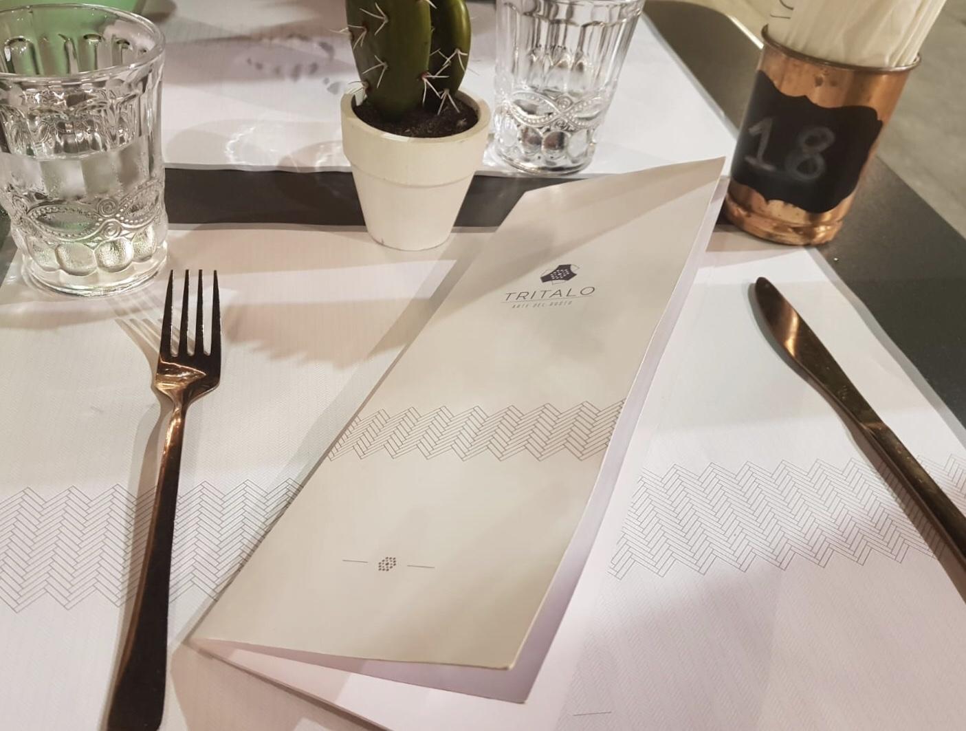 tritalo menu