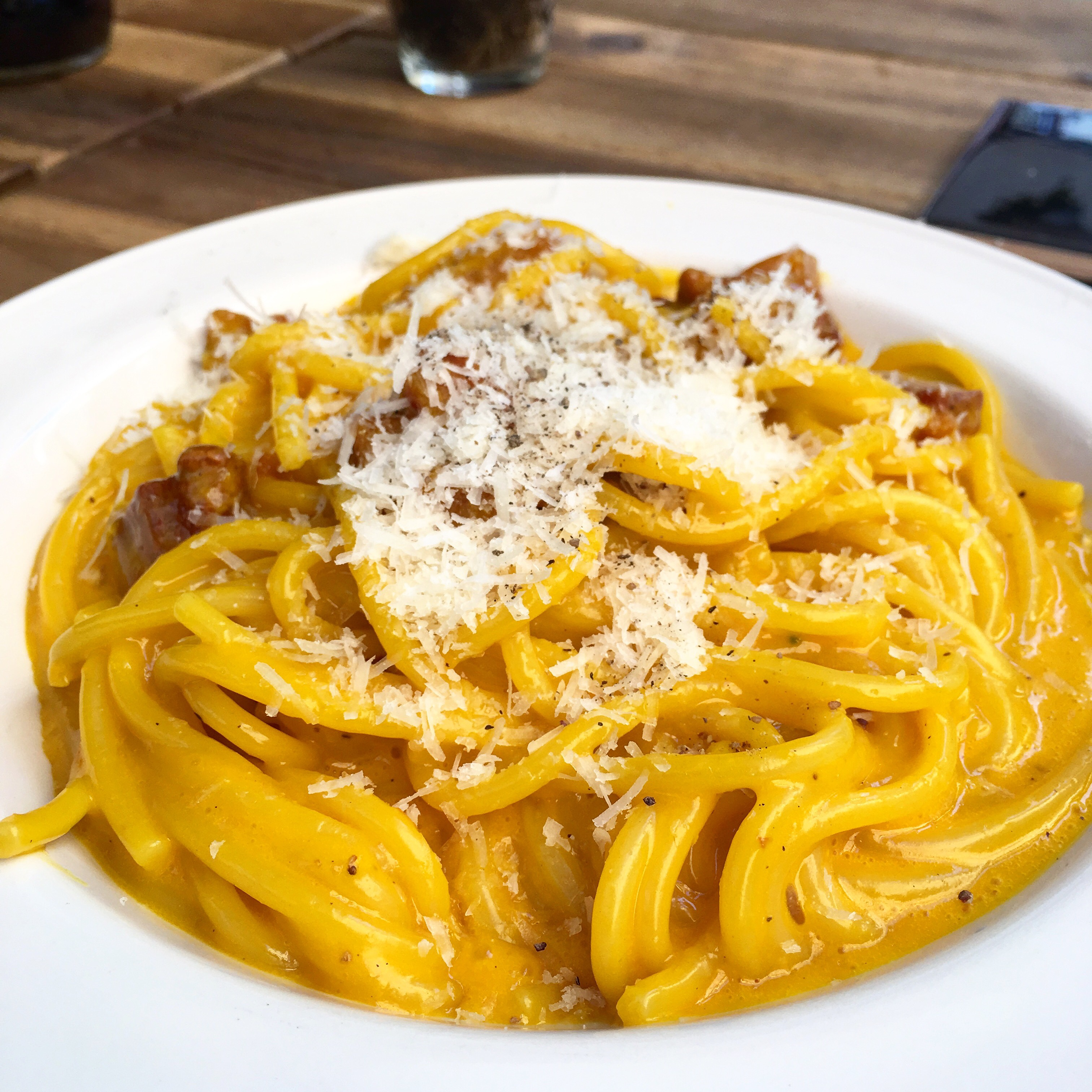 Luciano cucina italiana la casa della carbonara stellata for Alta cucina italiana